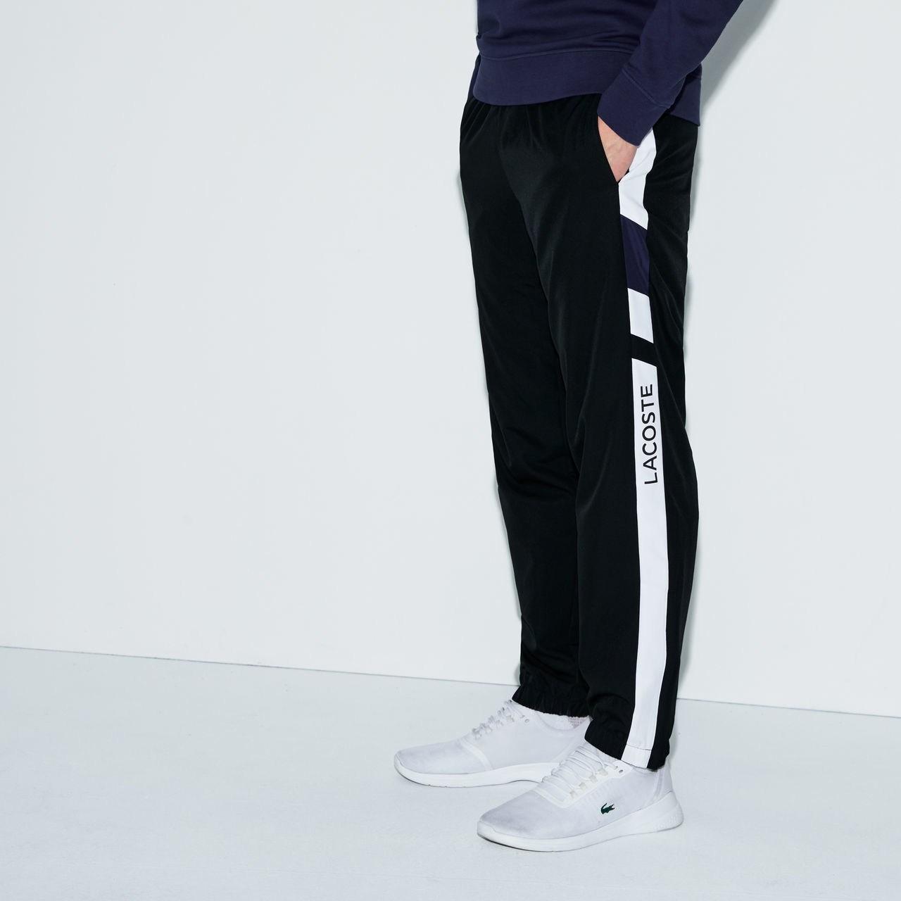 Blackwhite Tennis Pantalon Lacoste De Inkwell Survêtement zVqUMjpGLS